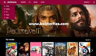 Jio Cinema Web Version