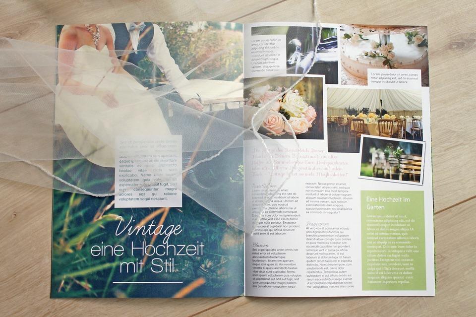 Steffi S Hochzeitsblog Hochzeitszeitung Fruher Und Heute