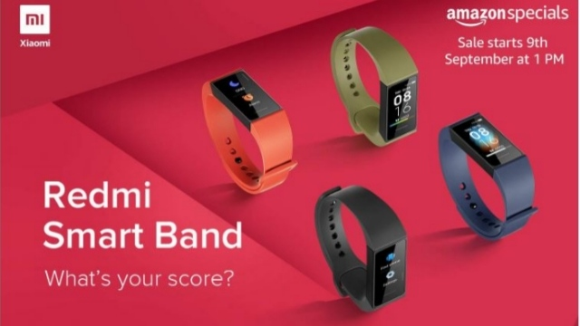 Redmi Smart Band First Online Sale Starts on Amazon