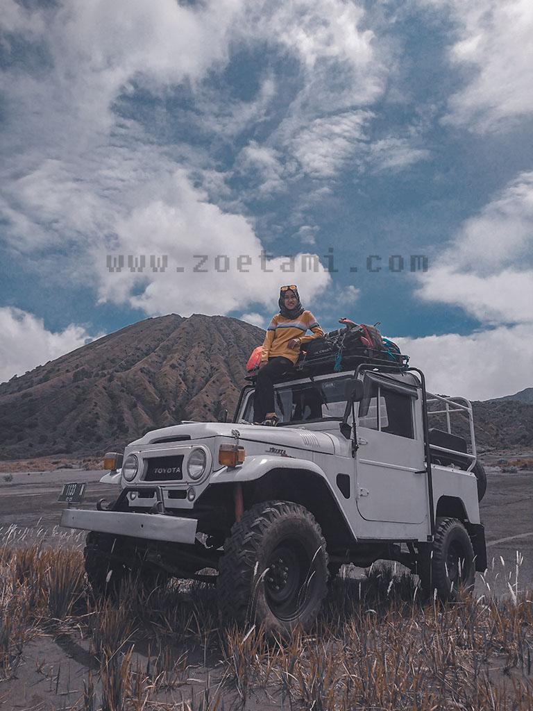 Jasa Operator Driver Jeep Bromo dan Semeru