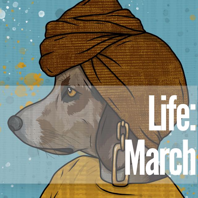 art print waflemama march covid
