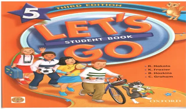 منهج Let's go الستة مراحل كاملة كتاب الطالب والورك بوك واسطوانات نصوص الاستماع ومذكرات المراجعة