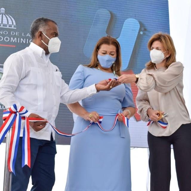 Vicepresidencia de la República   y el Servicio Nacional de Salud entregan  áreas remozadas en tres hospitales de la legión Sur