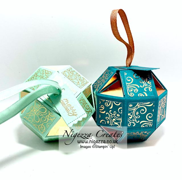 Ink Stamp Share November Blog Hop: Christmas Tree Decoration