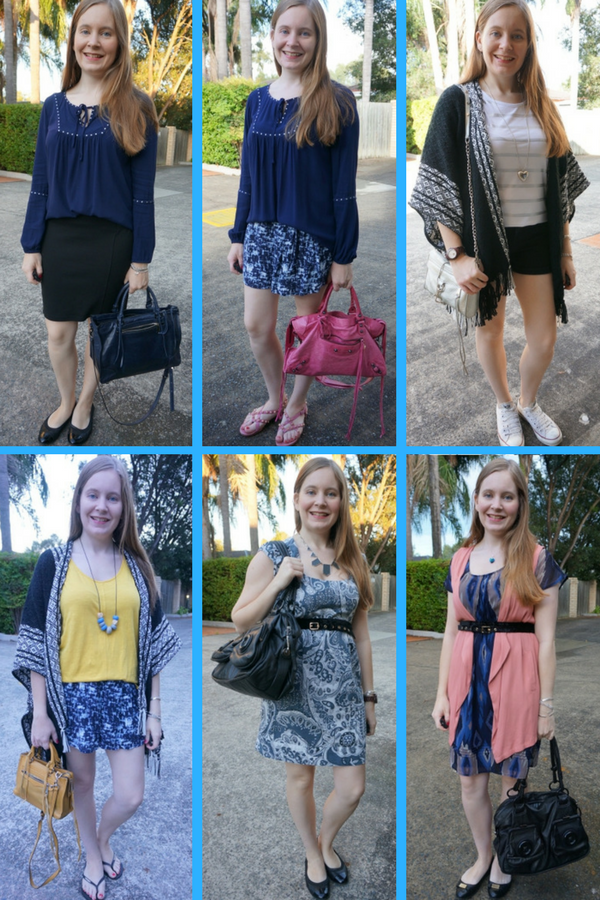 awayfromblue april monthly purchases and how I wore them rebecca minkoff poncho belt and Jeanswest