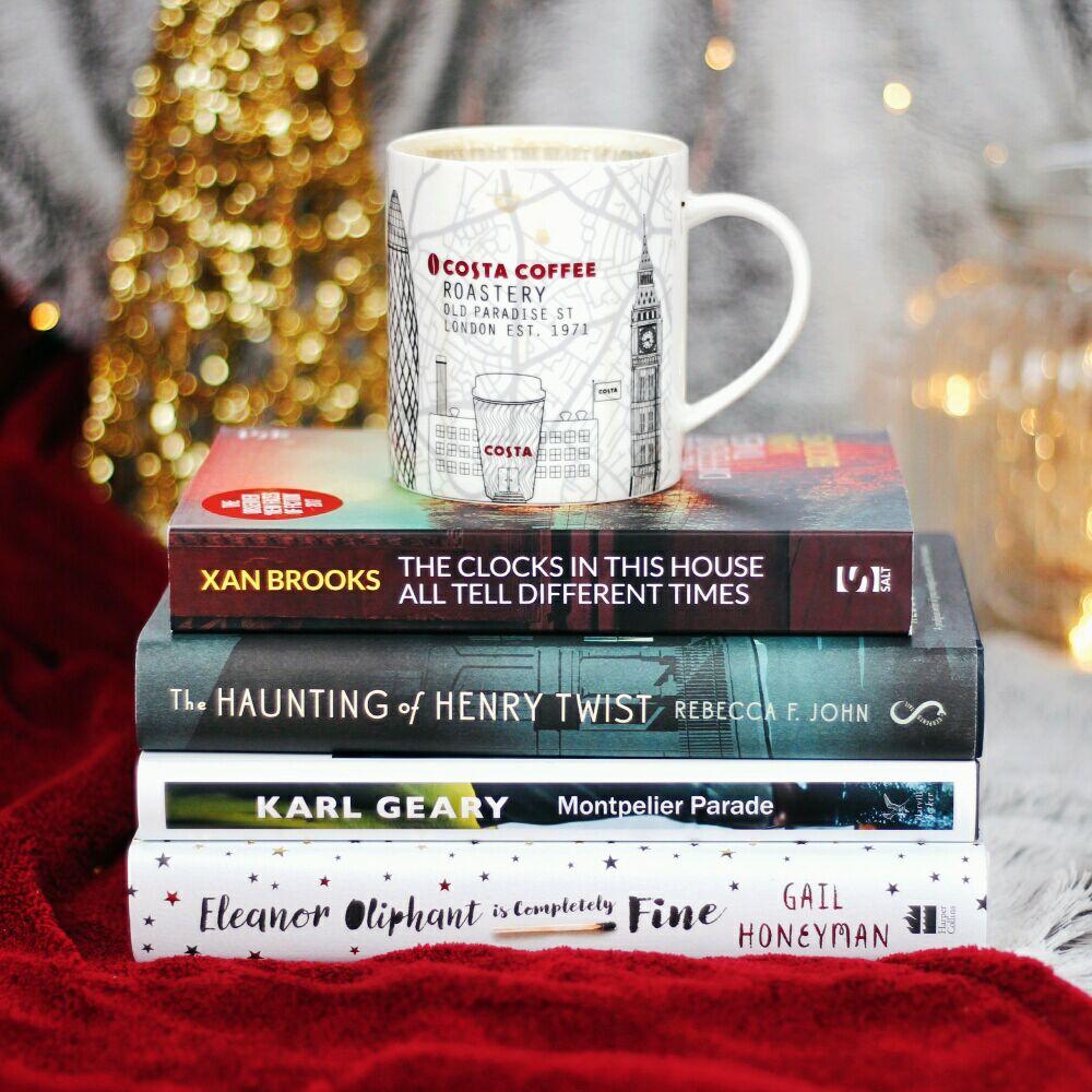 Costa Book Awards First Novel Shortlist