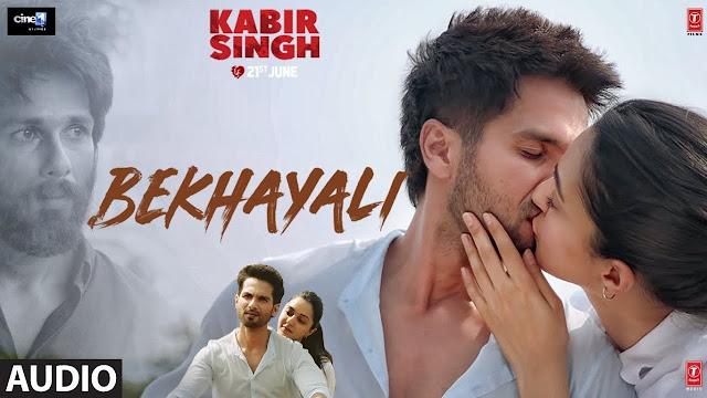 Bekhayali Lyrics in Hindi I KABIR SINGH I SACHET TANDON I SACHET-PARAMARA