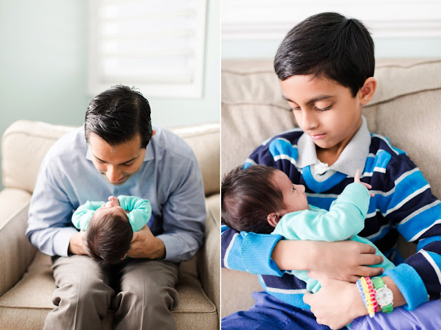 Kensington MD Newborn Lifestyle Photography