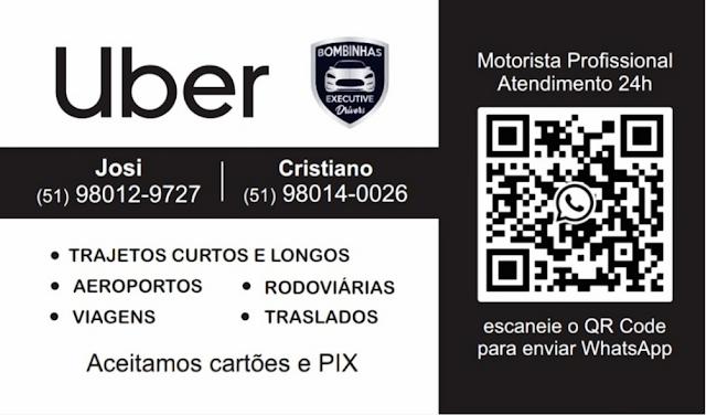 Uber Bombinhas