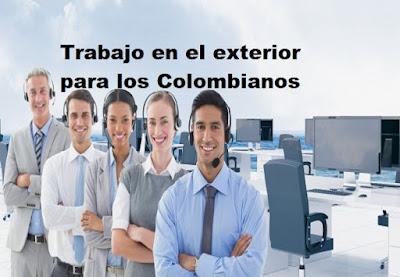 Como conseguir trabajo en el exterior para los colombianos