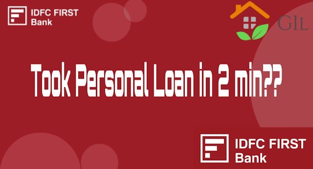 apply for IDFC First bank personal loan in easy steps