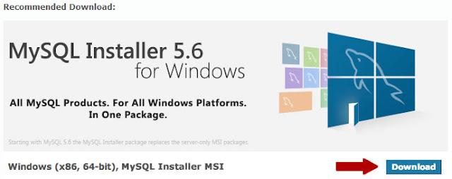 Steps to install MySQL on Windows