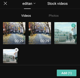 add video you want to reverse