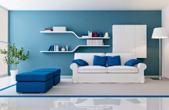 Light Blue Interior Psychological Effects