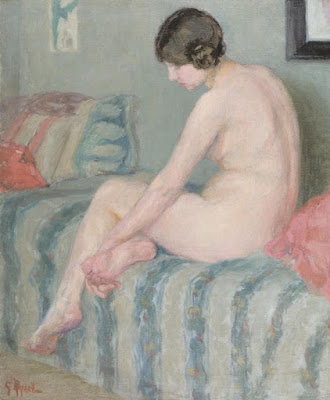 Pensiveness (1913), Gladys Reynell