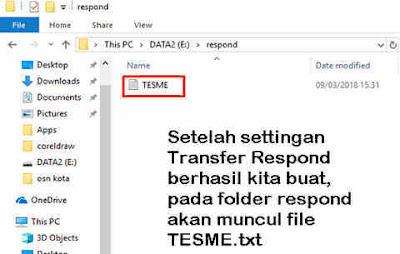 Cara Lengkap Memasang Transfer Response Pada CBT Admin UNBK