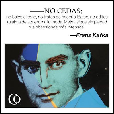 Meme sobre una cita de Franz Kafka