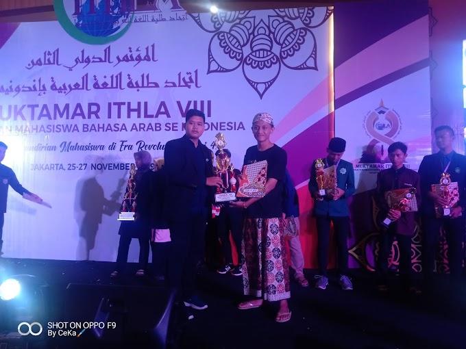 Mahasiswa Ipmafa Raih Juara 3 dalam Kemah Bahasa Arab Internasional Di Jakarta