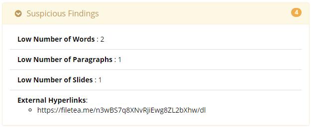 Malware Analysis: The Final Frontier: IRIS-H (alpha): Added