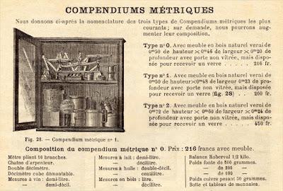 Catalogue de matériel scolaire, détail, vers 1880 (collection musée)