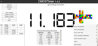 cmos timer for speedcubing
