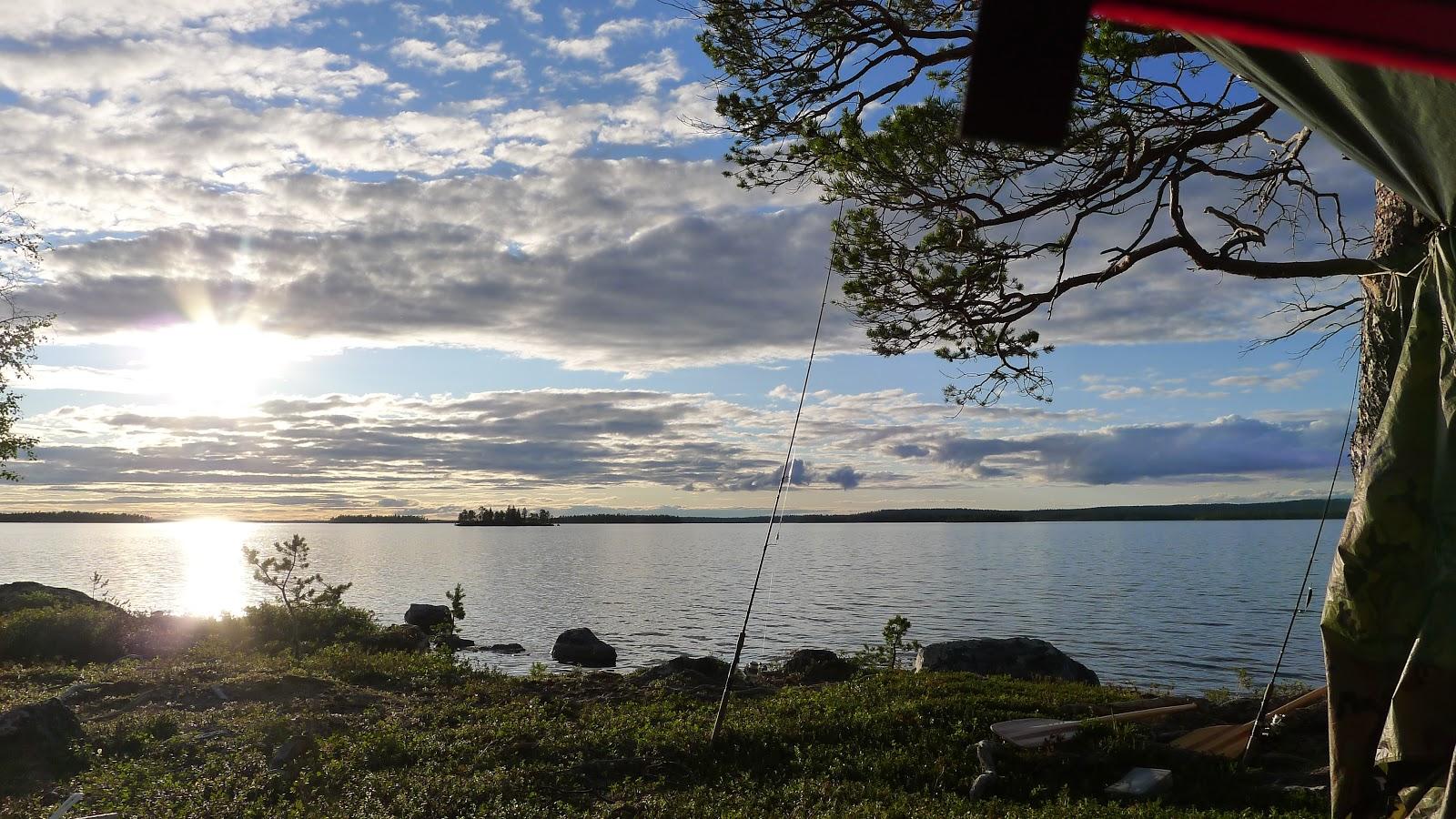 enaresjøen kart Turhistorier: Enare   Munkelva enaresjøen kart