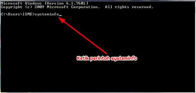 CMD,systeminfo
