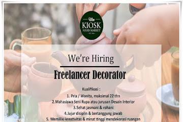 Lowongan Kerja Bandung Freelance Decorator Kiosk