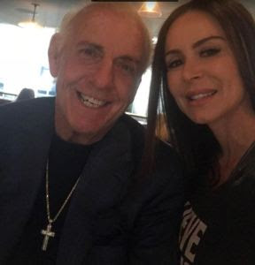 16-time World Champion Ric Flair  with porn star and wrestling fan Kendra Lust. StrengthFighter.com
