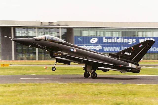RAF Eurofighter Typhoon ZH588