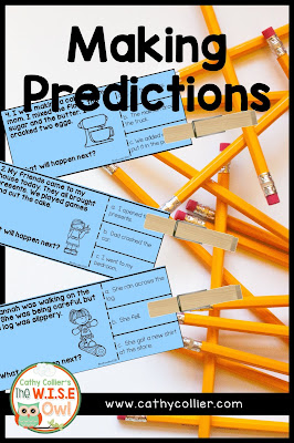 Predicting is a reading comprehension strategy all students can master. This step-by-step blog post helps with all students. From anchor charts to whole group lessons and independent activities...it's all there. Click here to see how easy this strategy can quickly be used by early learners.