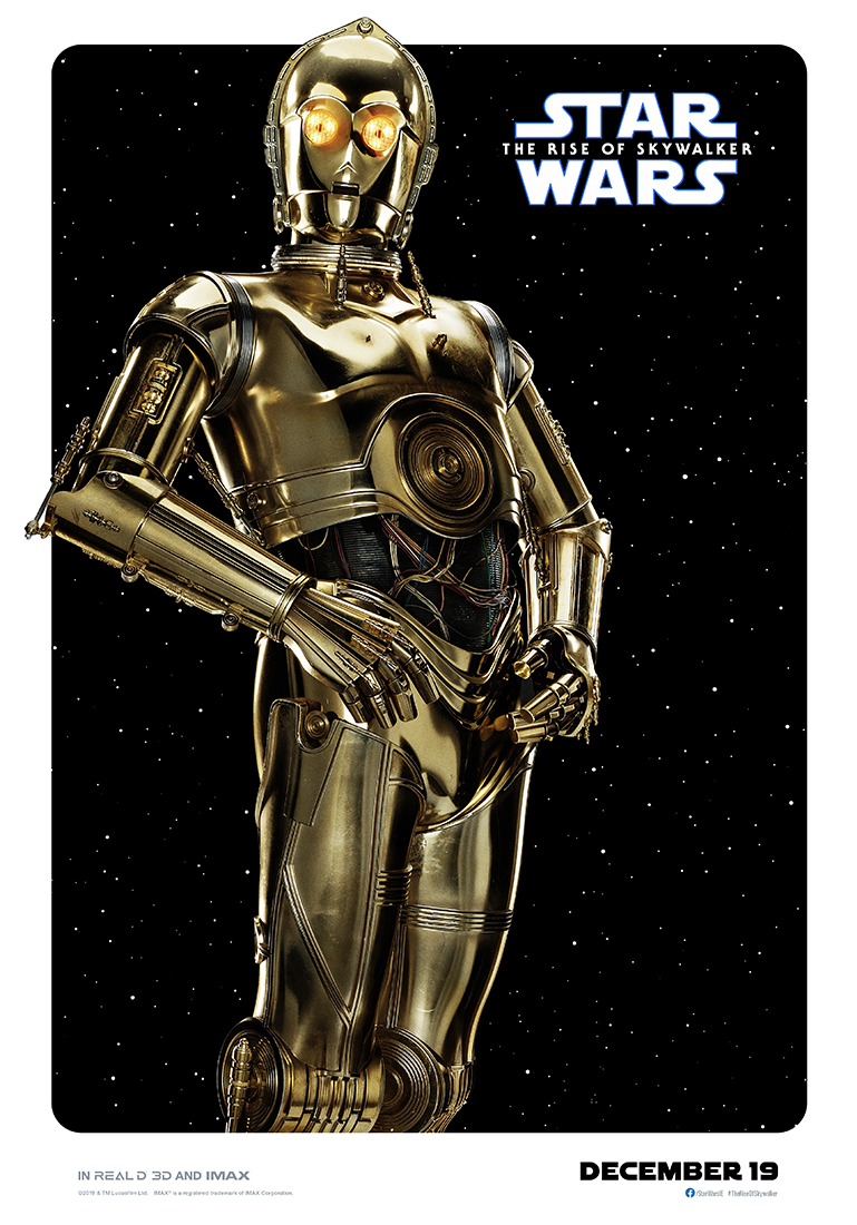 Star Wars: The Rise of Skywalker c3po poster