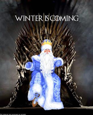 Der Winter kommt lustige Adventszeit