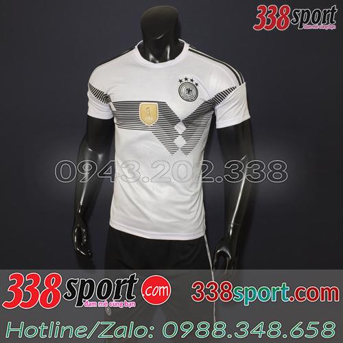 Áo bóng đá màu trắng đẹp