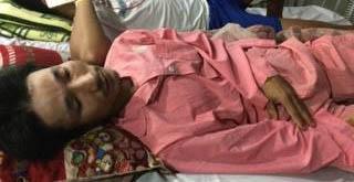 Anh Võ Hướng đang điều trị tại bệnh viện