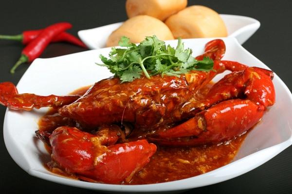 Cua sốt cay Chili Crab