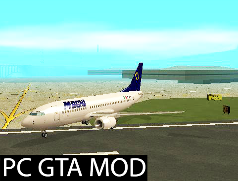 Free Download  Boeing 737-300 Magnicharters  Mod for GTA San Andreas.