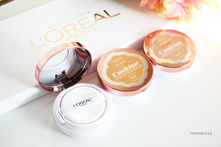 L'Oreal True Match Lumi Cushion Swatch Review
