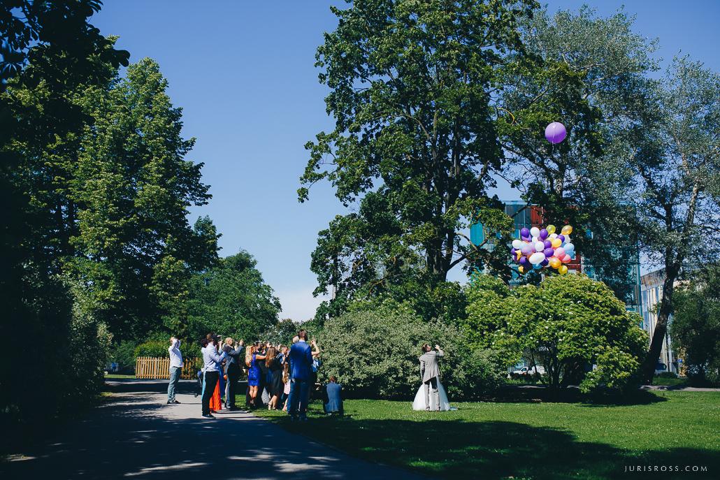 baloni kāzu