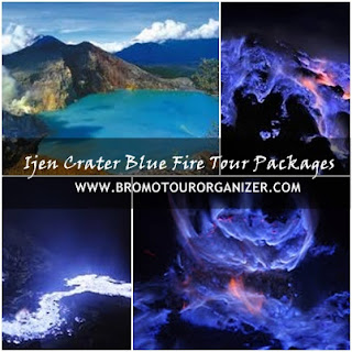 Ijen Crater Blue Fire Tour Packages 2 Days 1 Night