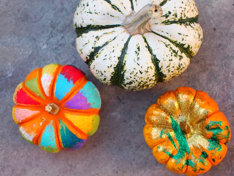 Easy No Carve Halloween Pumpkin Art