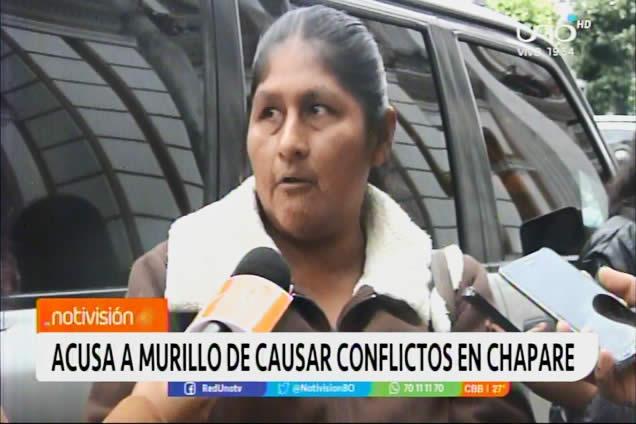 Juana Quispe dice que Murillo es quien debe ir a la cárcel por Senkata y Sacaba