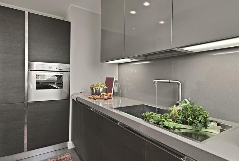 Häfele'nin tezgah arası çözümü AluSplash'dan mutfaklara sihirli dokunuş