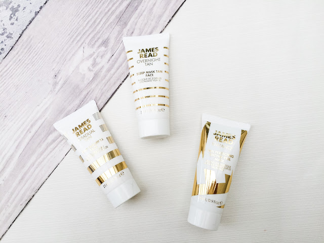 James Read, James Read Day Tan, James Read Sleep Mask Tan for face, James Read Enzyme Peel Masks,