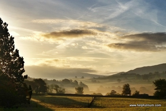 Misty Yorkshire Dales