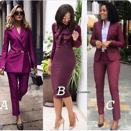 Ladies business casual