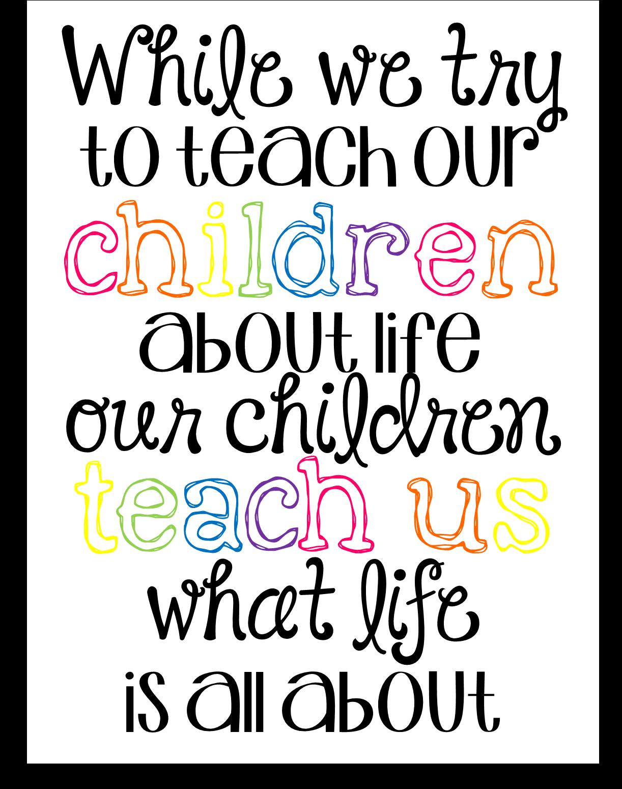 Preschool Ponderings Appreciation For Early Childhood