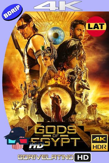 Dioses de Egipto (2016) BDRip 4K HDR Latino-Ingles MKV