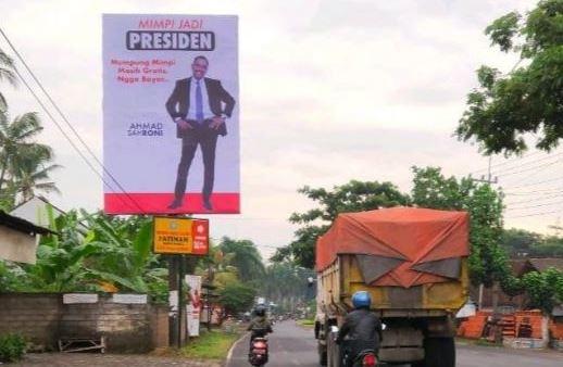 Ahmad Sharoni mimpi jadi presiden