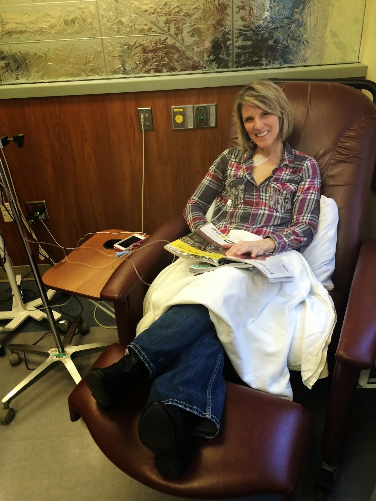 Gi Jen S Adventure First Chemo Treatment Update